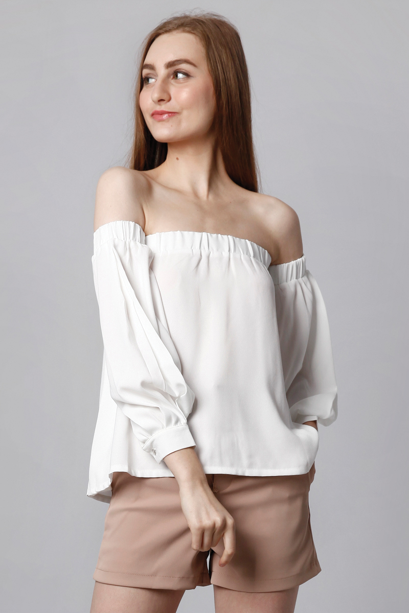 DELI SABRINA TOP WHITE