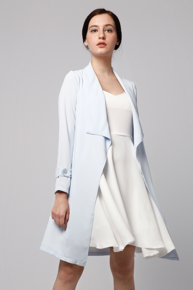 DELILAH LONG OUTER BABY BLUE