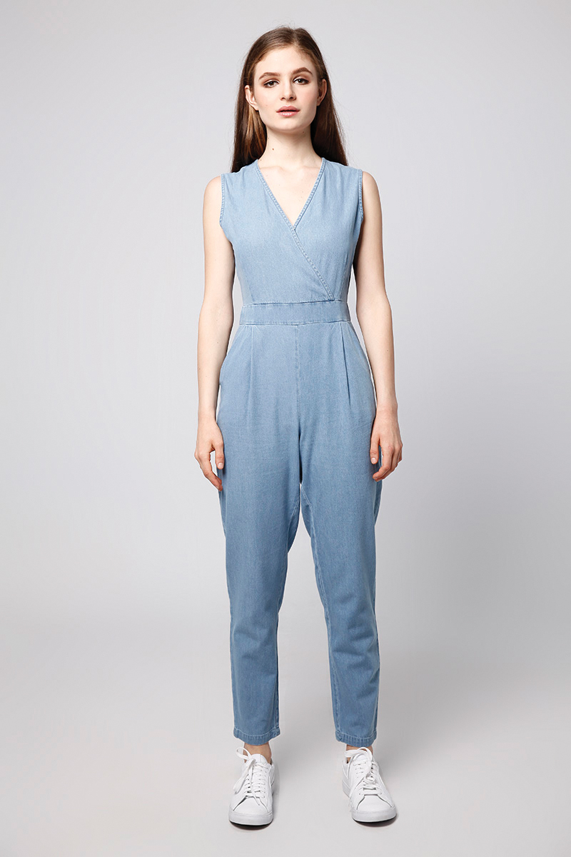 ce50ef23e6a DOMN DENIM JUMPSUIT LIGHT BLUE – LOOKBOUTIQUESTORE