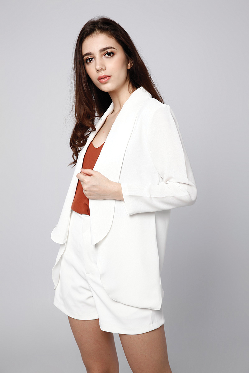 PONY OUTER WHITE