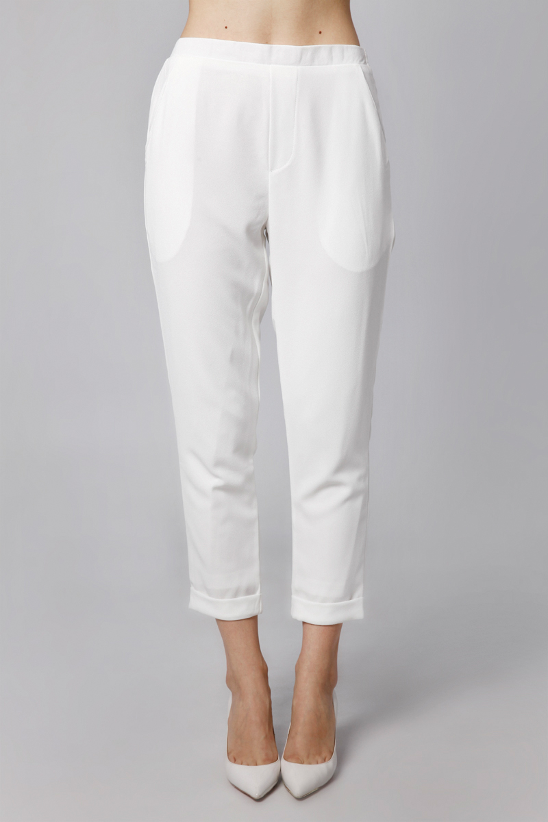 AXA PANTS WHITE