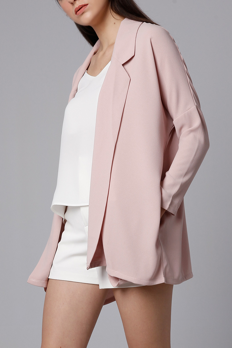 KAIA OUTER DUSTY PINK