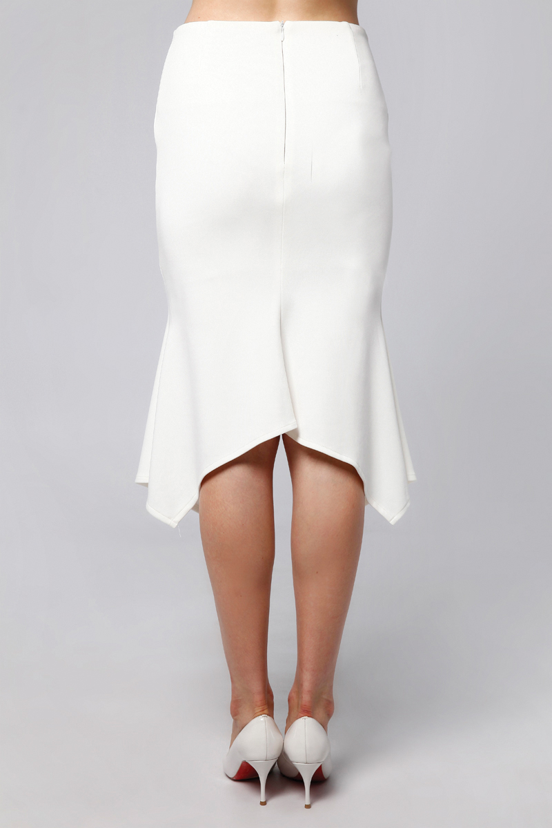 TUNE SKIRT WHITE