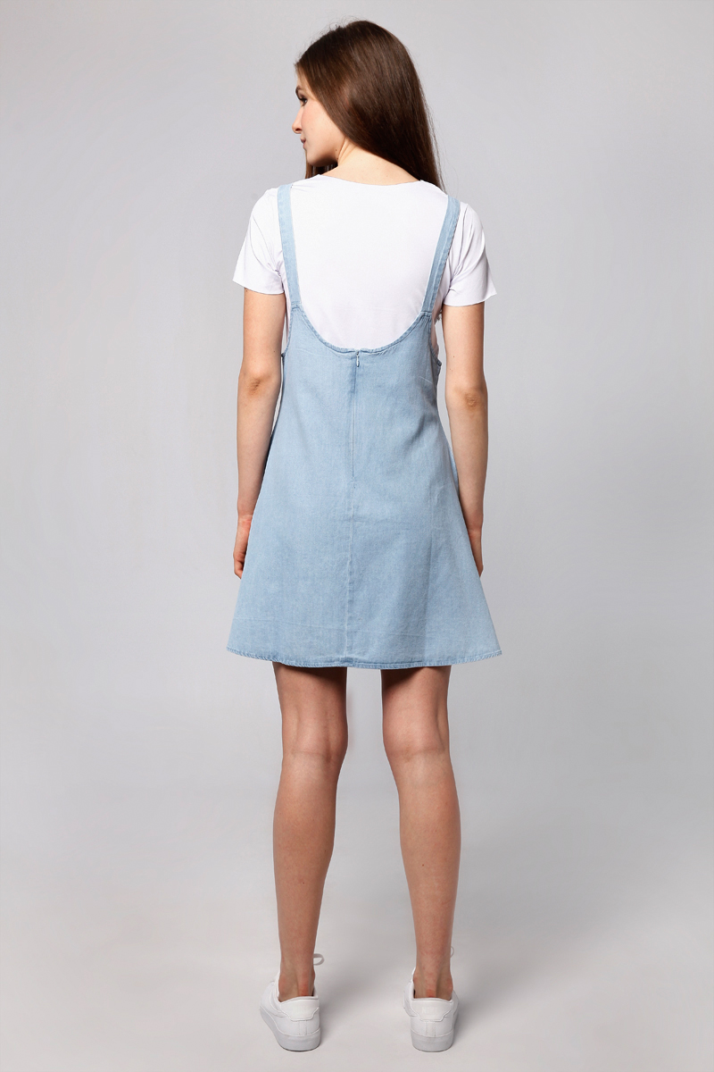 ZAC DENIM OVERALL LIGHT BLUE WITH INNER