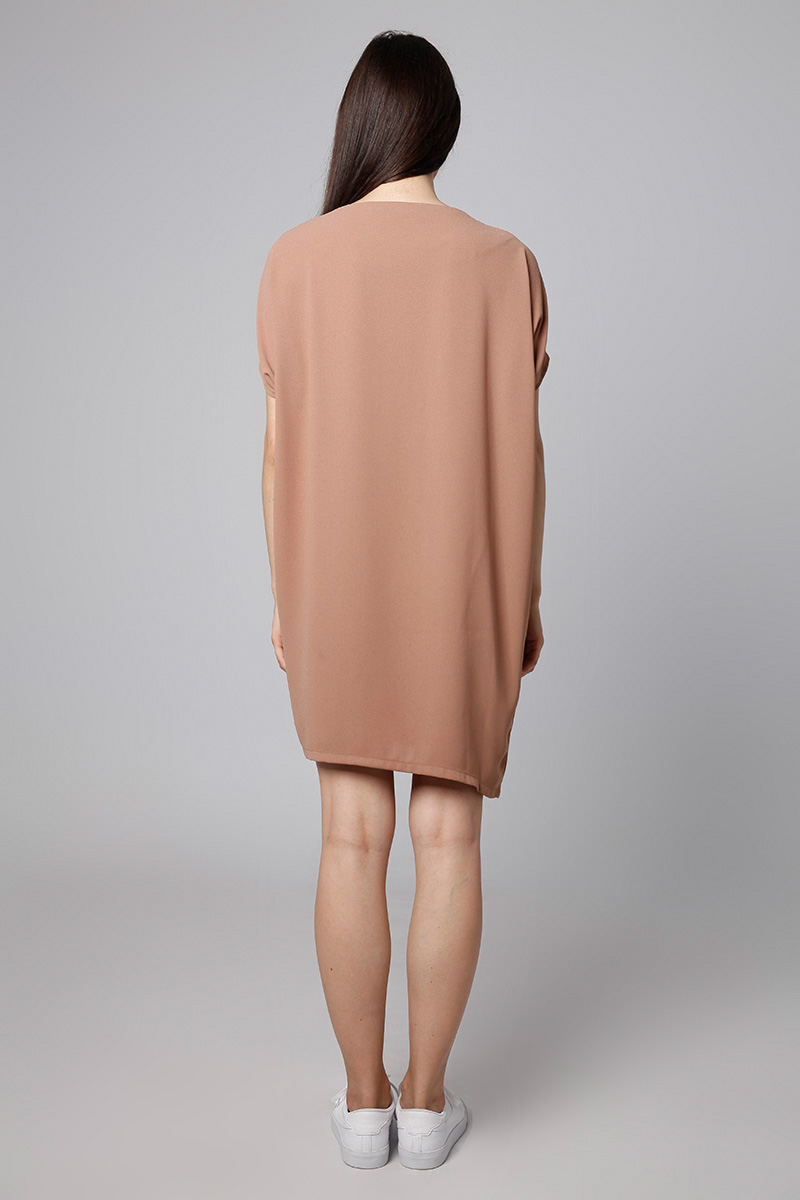BRUSSEL DRESS MOCCA