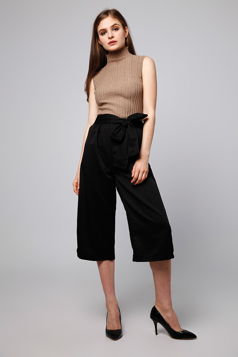 CARTER KNIT TOP BROWN