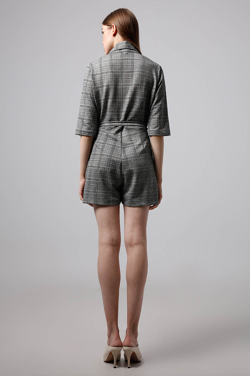 TAKA CLOVER JUMPSUIT GREY