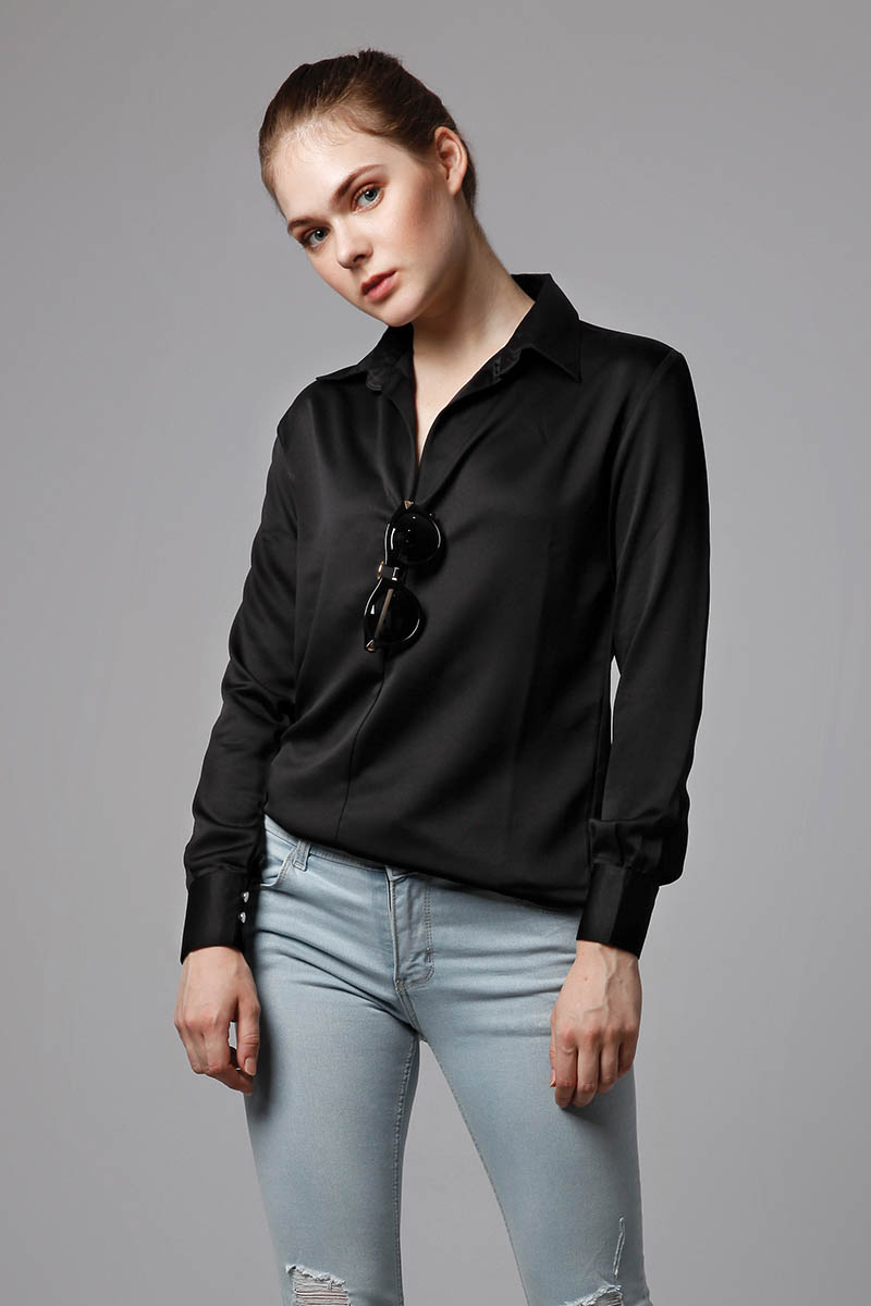 ATHENES SHIRT BLACK
