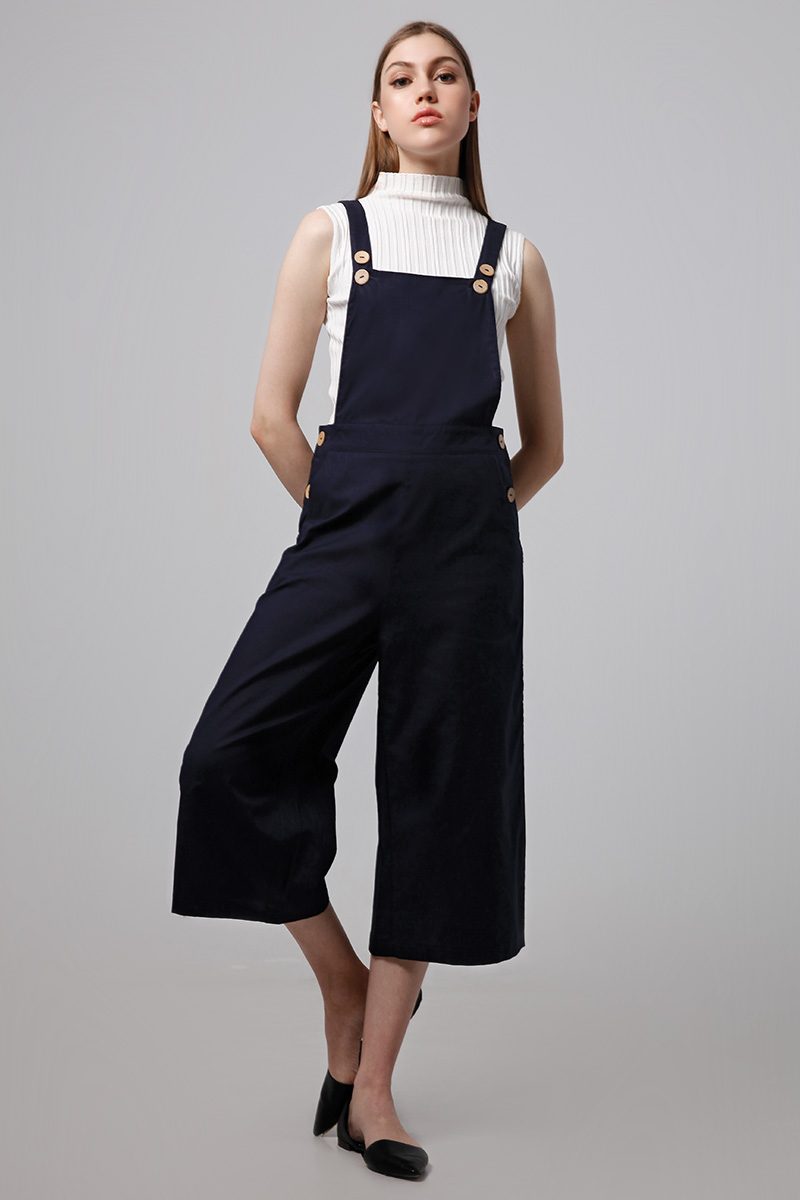 DAY LINEN JUMPSUIT NAVY