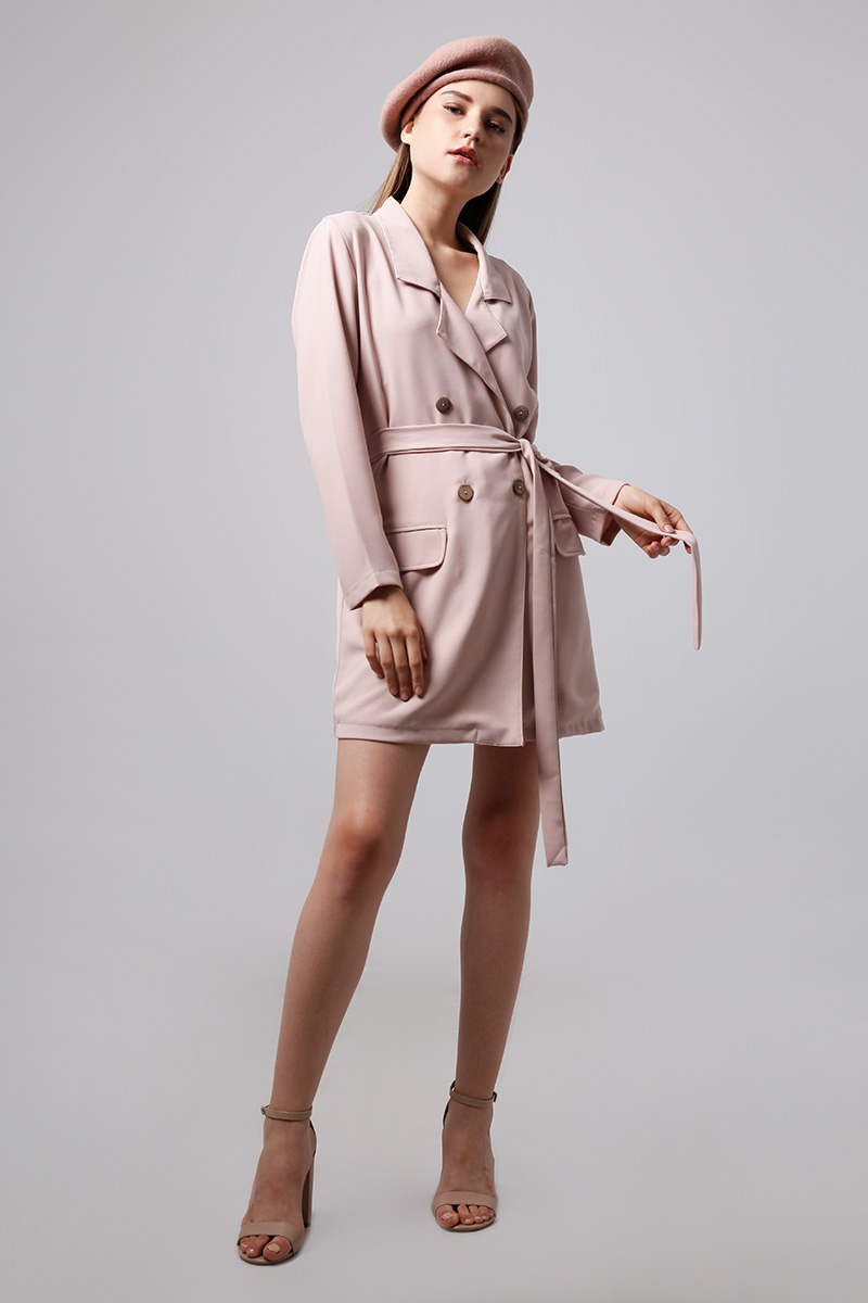 NIELL OUTER DUSTY PINK
