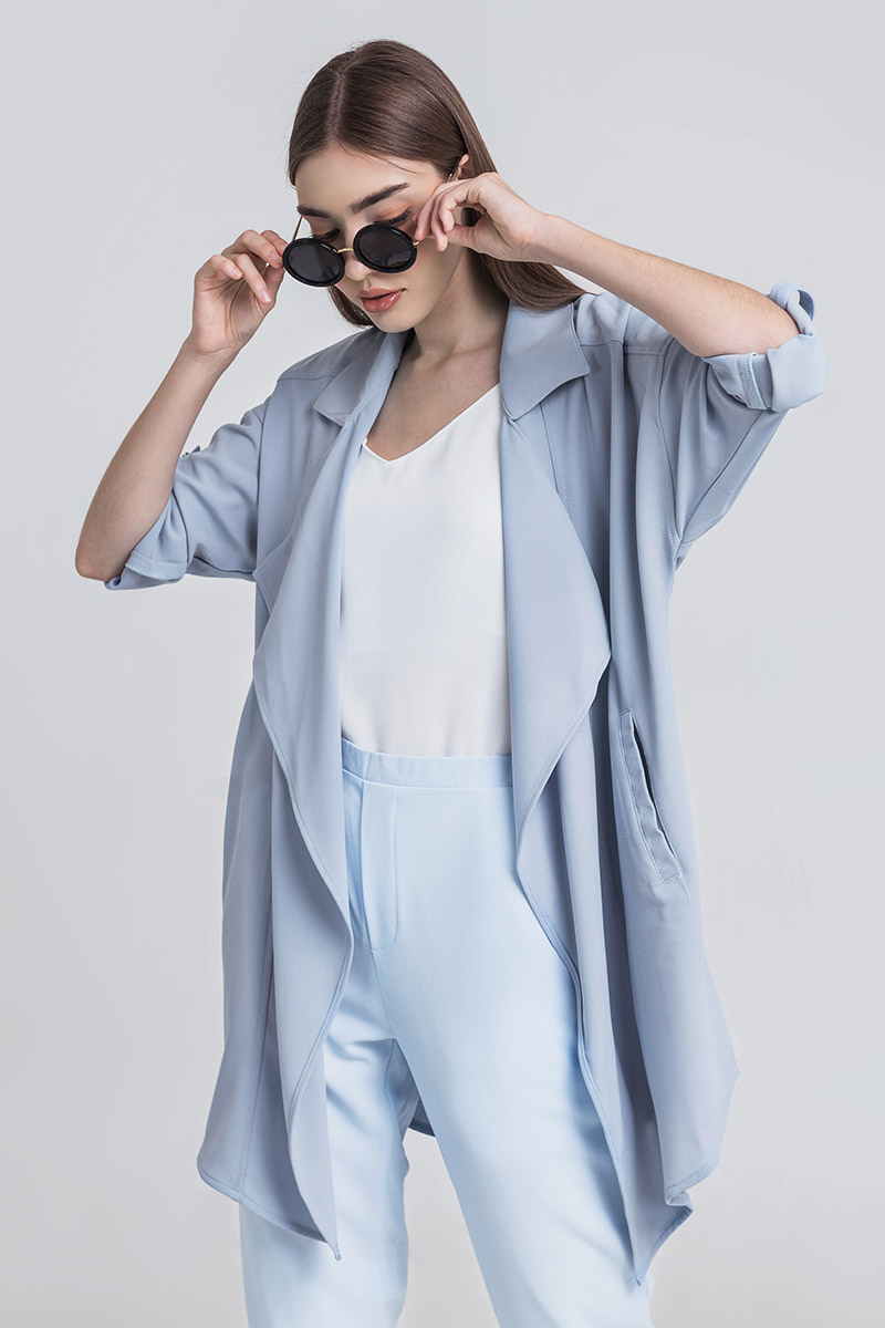 ABEL OUTER BABY BLUE