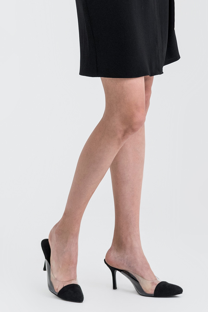 MORGAN POINTED TOE SHOES BLACK