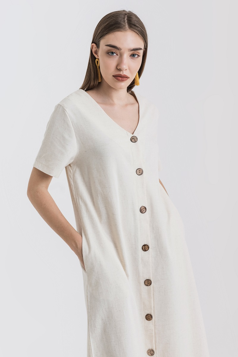COBIE DRESS CREME