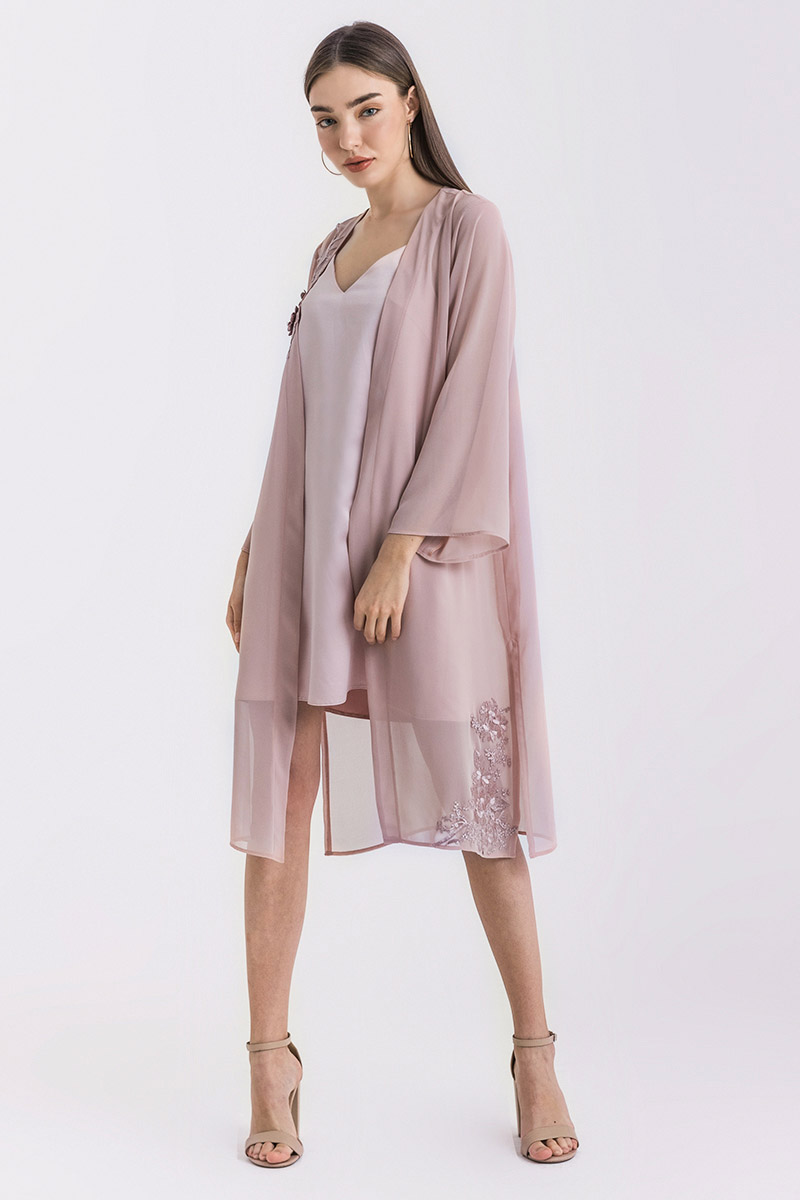 JANIS OUTER DUSTY PINK