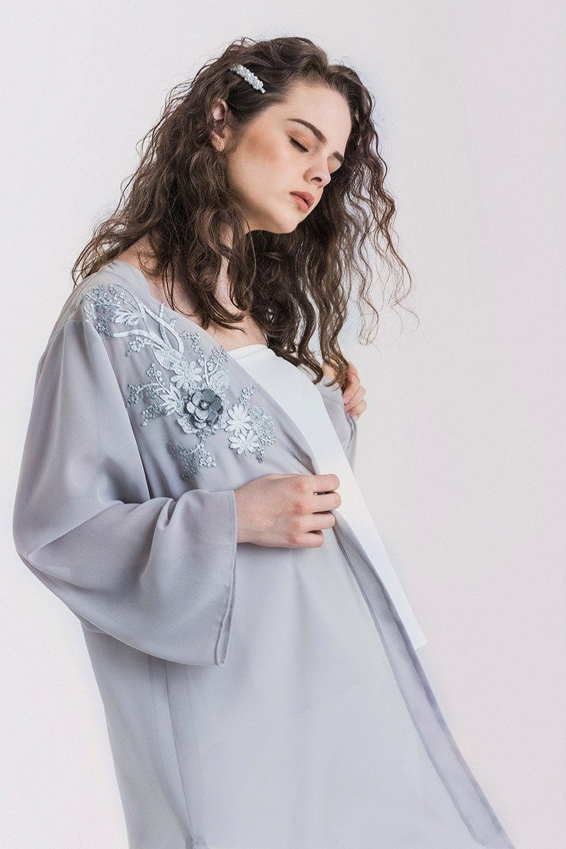 JANIS OUTER GREY