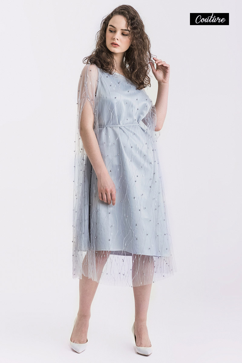 MARA DRESS GREY
