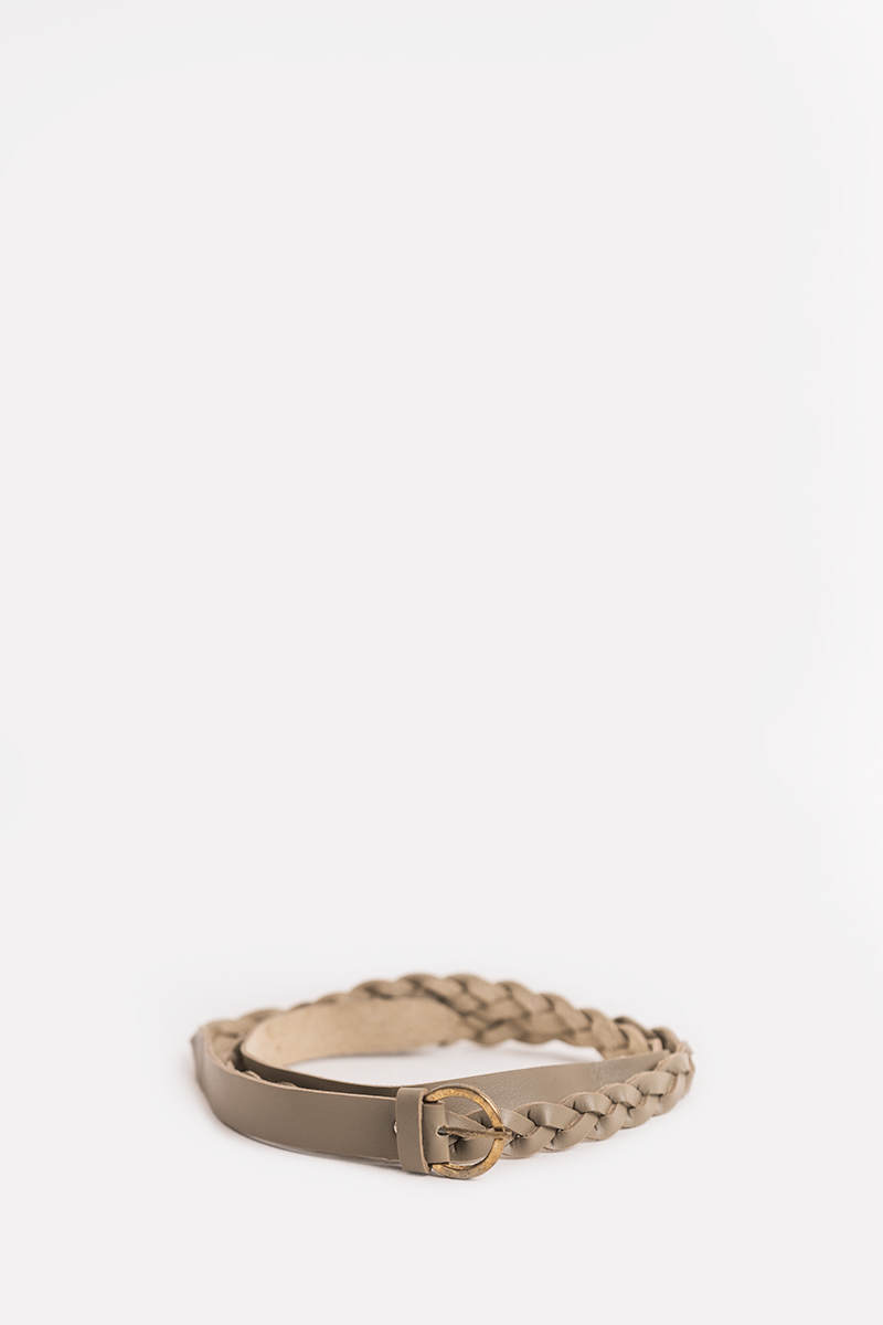 LYANNA BRAIDED BELT CREME