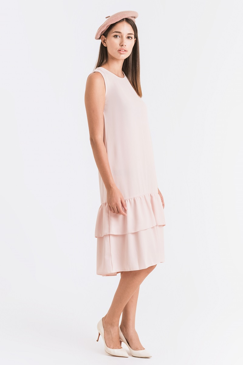 CHANDELEE DRESS BABY PINK