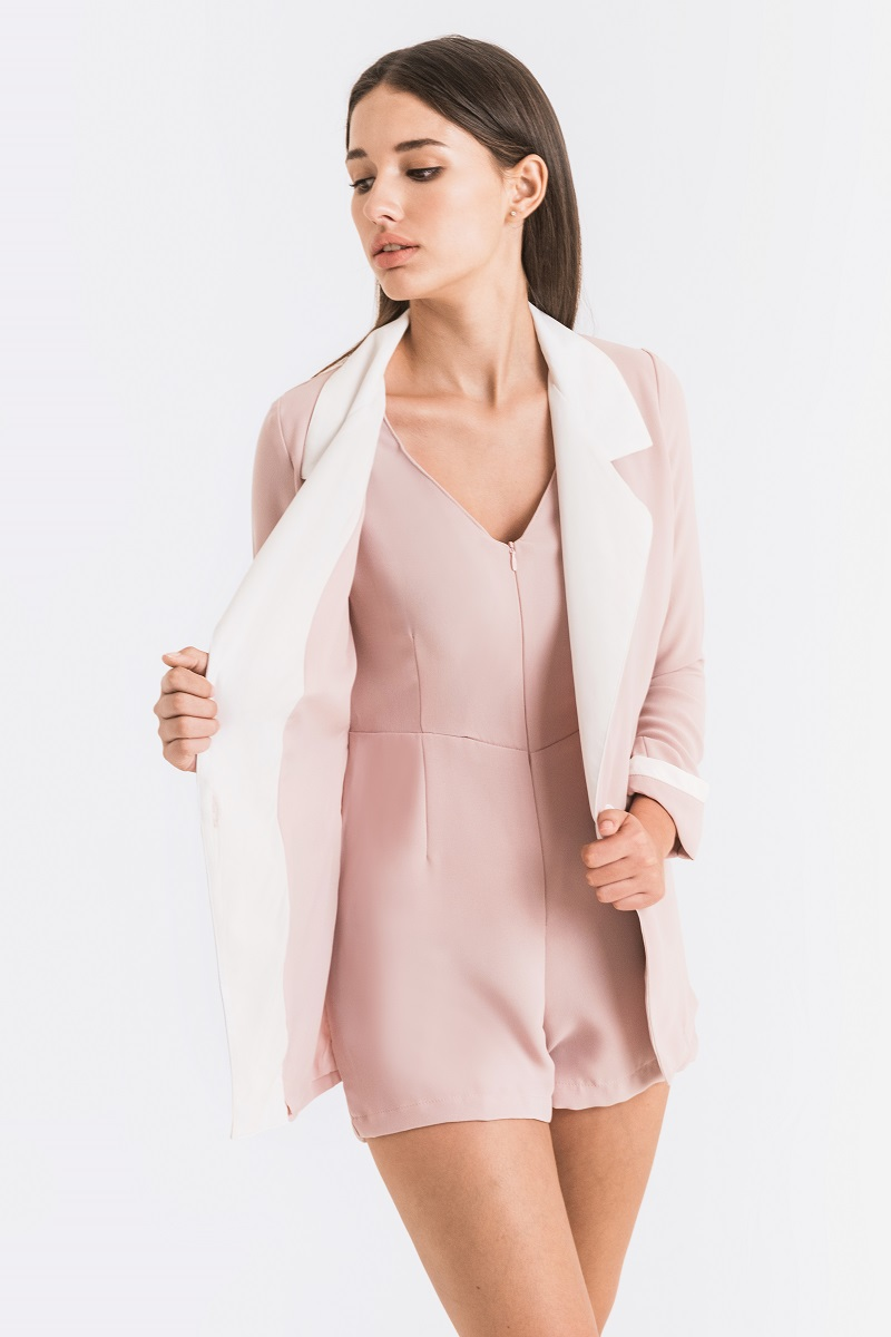 HALE JUMPSUIT DUSTY PINK
