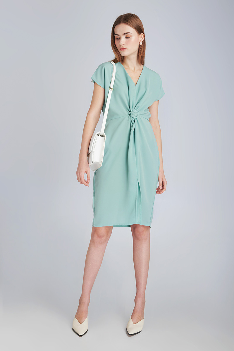 ALFIE DRESS MINT