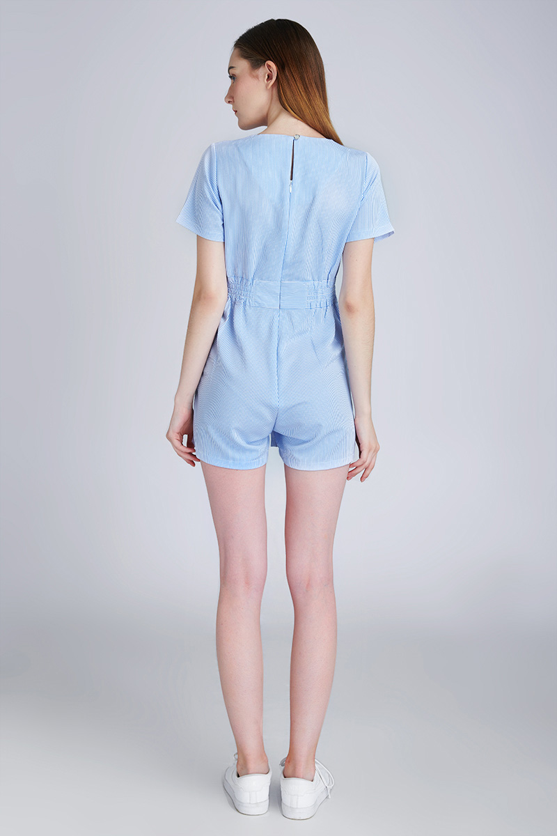 DECLAN JUMPSUIT BLUE