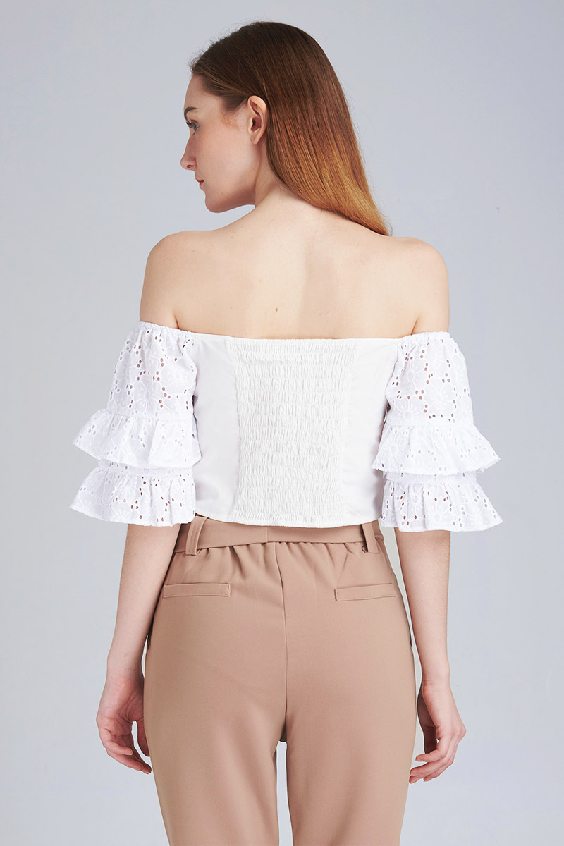 LEILA TOP WHITE