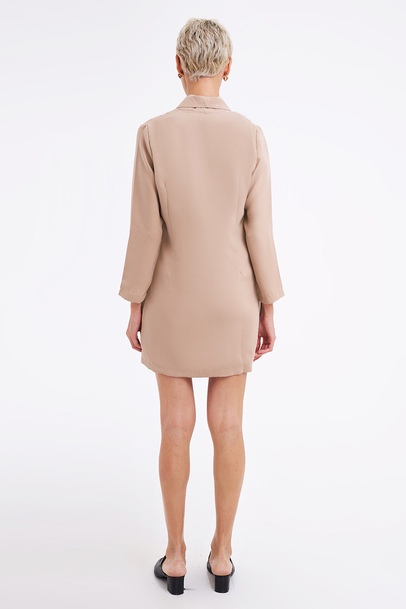 ABEEY DRESS NUDE