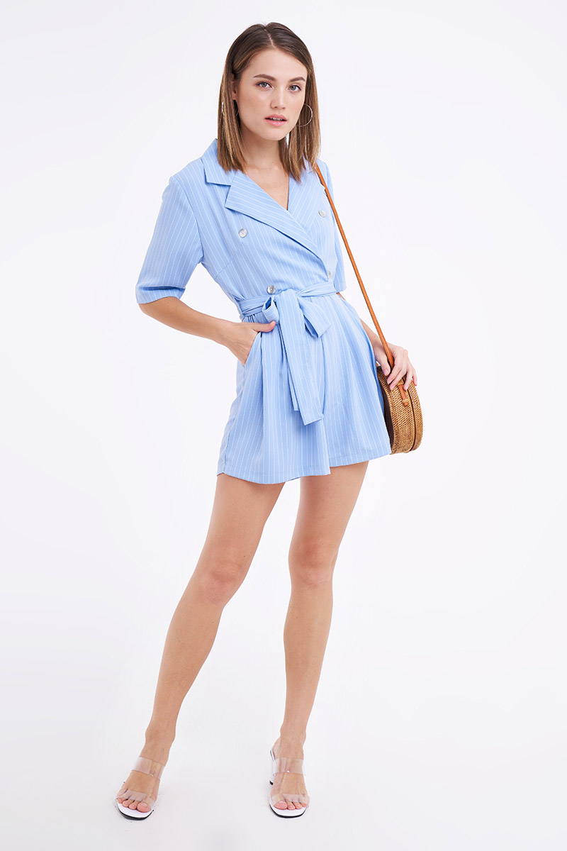 CALAN JUMPSUIT BLUE
