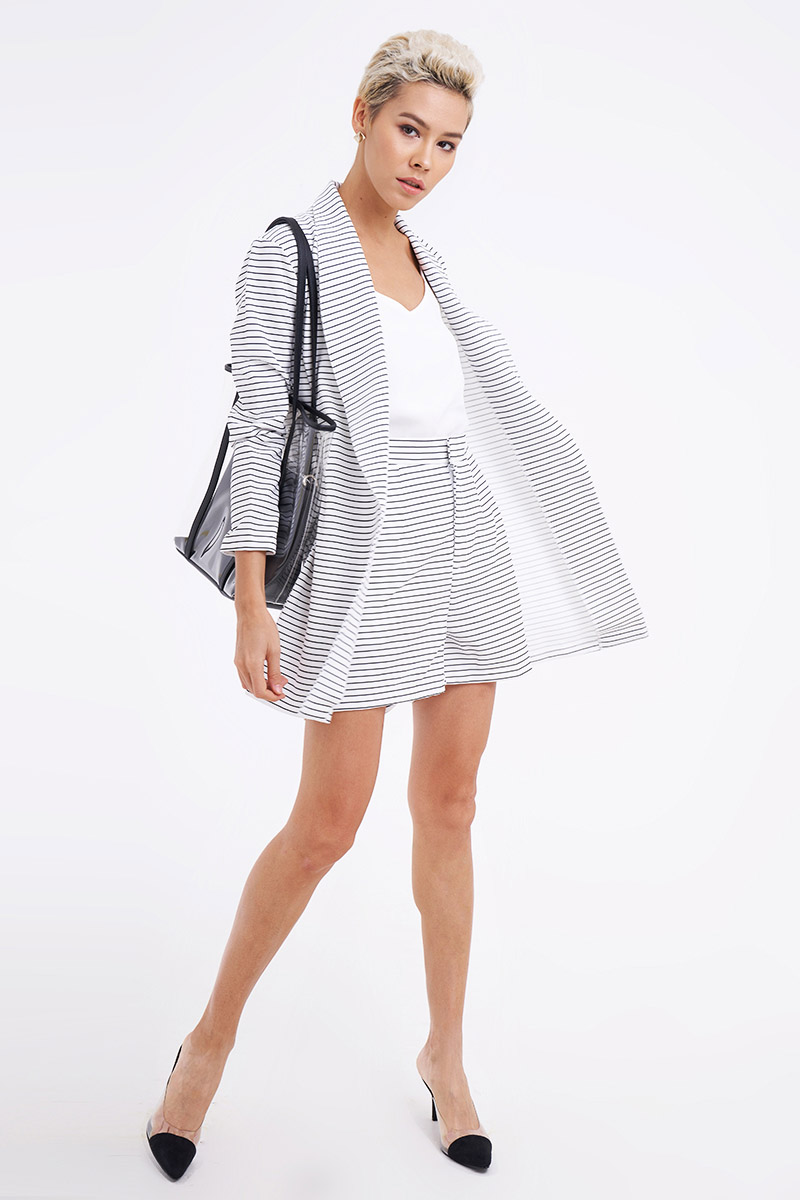 DUFT STRIPE OUTER WHITE