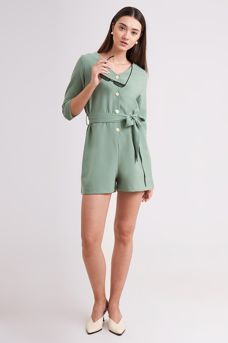 LEYA JUMPSUIT MINT