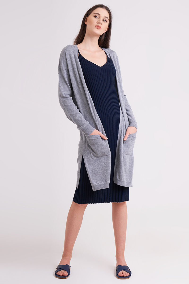 MARU KNIT OUTER GREY
