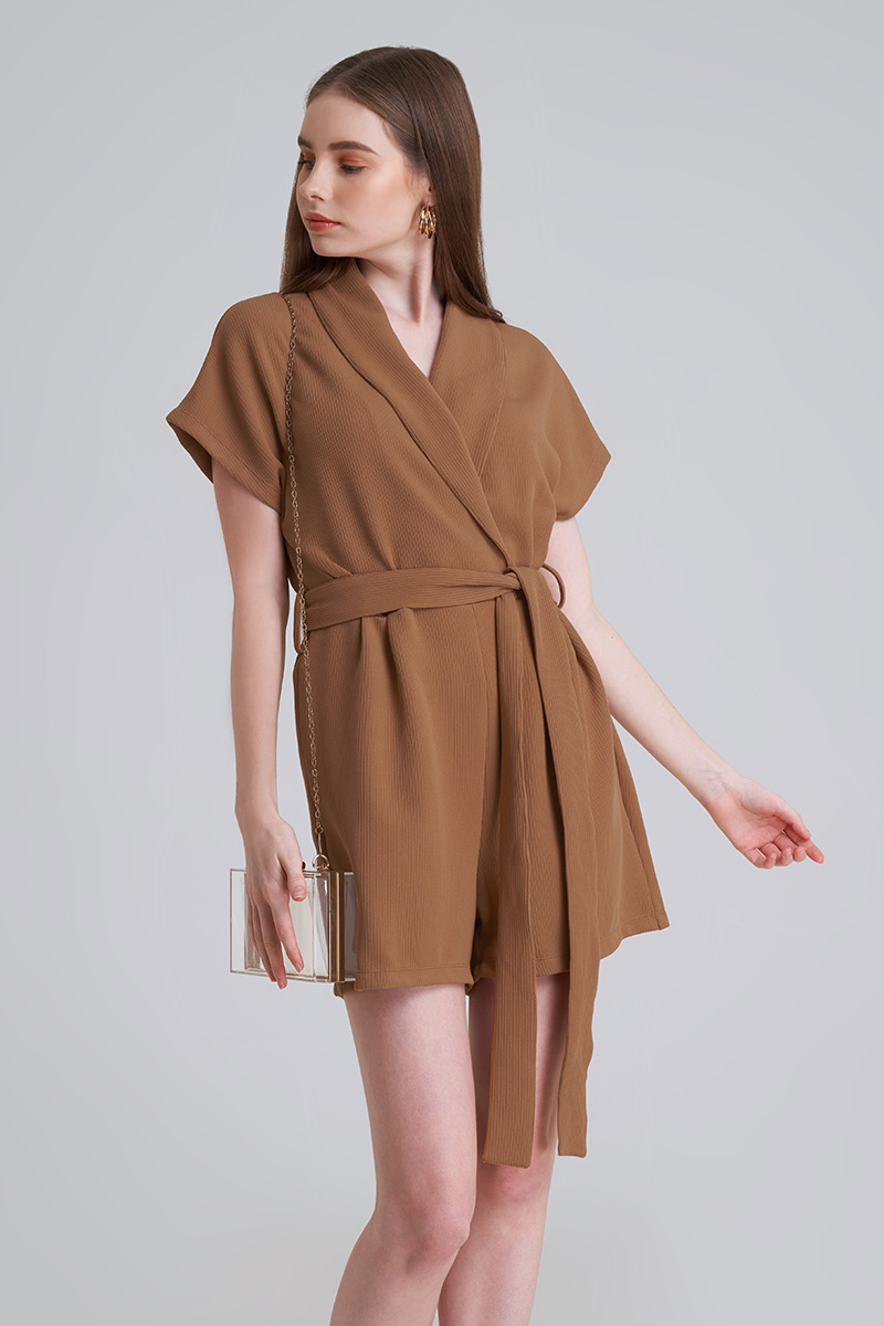 ROVER JUMPSUIT BROWN