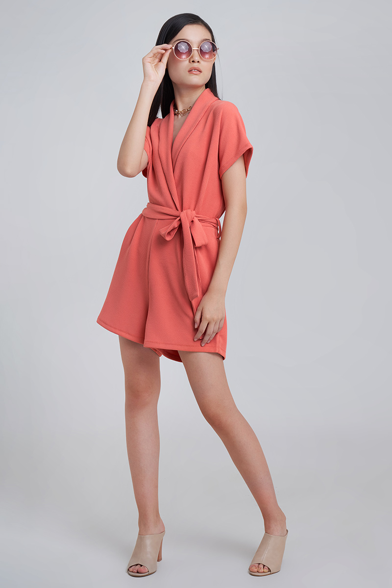 ROVER JUMPSUIT CORAL