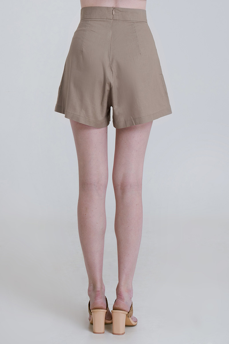 MALUS LINEN PANTS BROWN