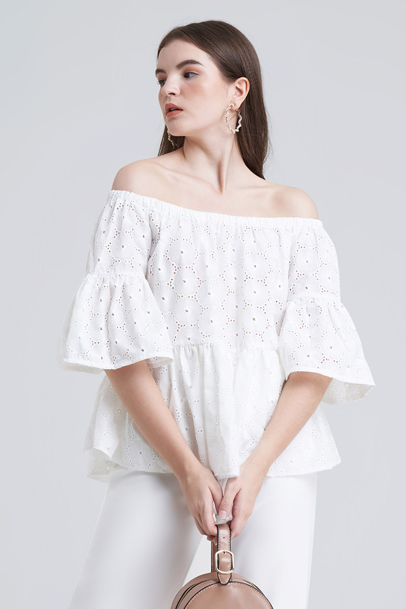 ALINE TOP WHITE
