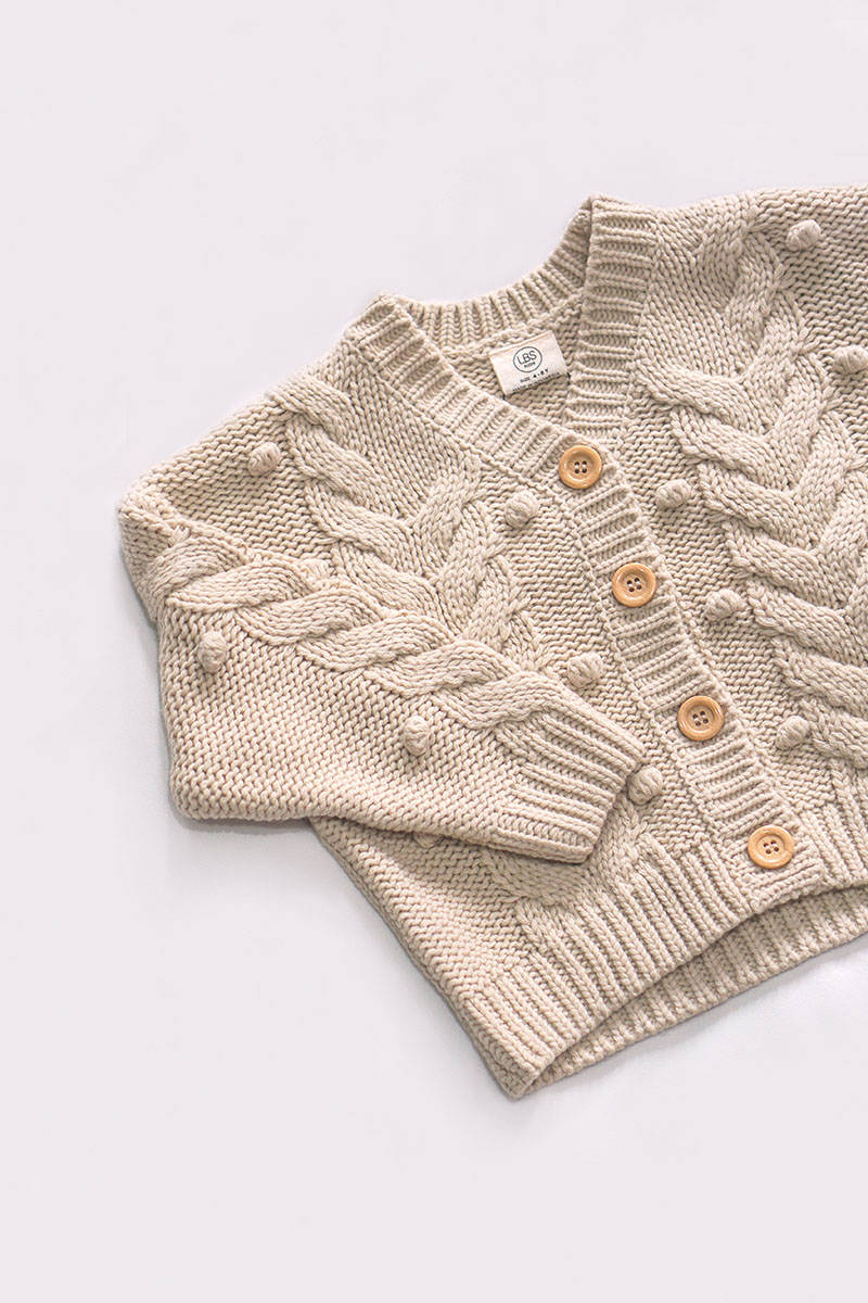 ODIE KNIT OUTER NUDE