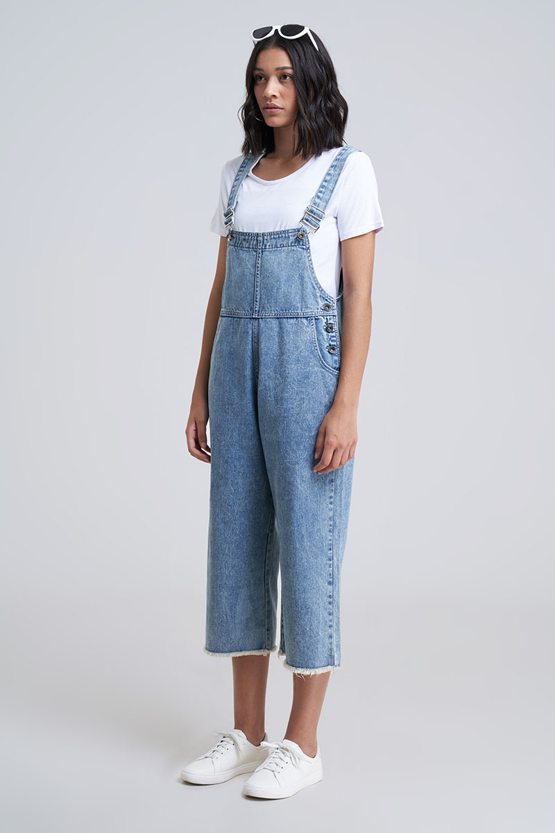 PEETER DENIM OVERALL ICE BLUE
