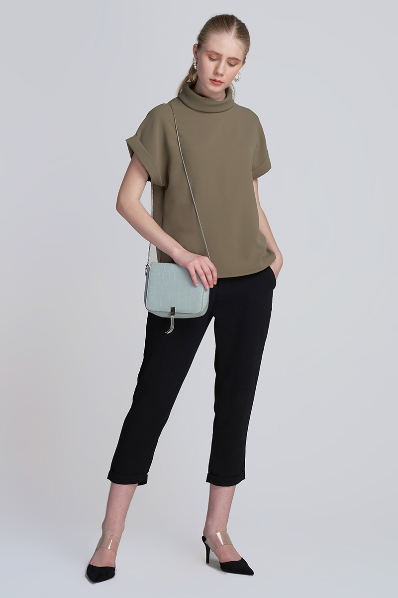 FOXY TOP OLIVE