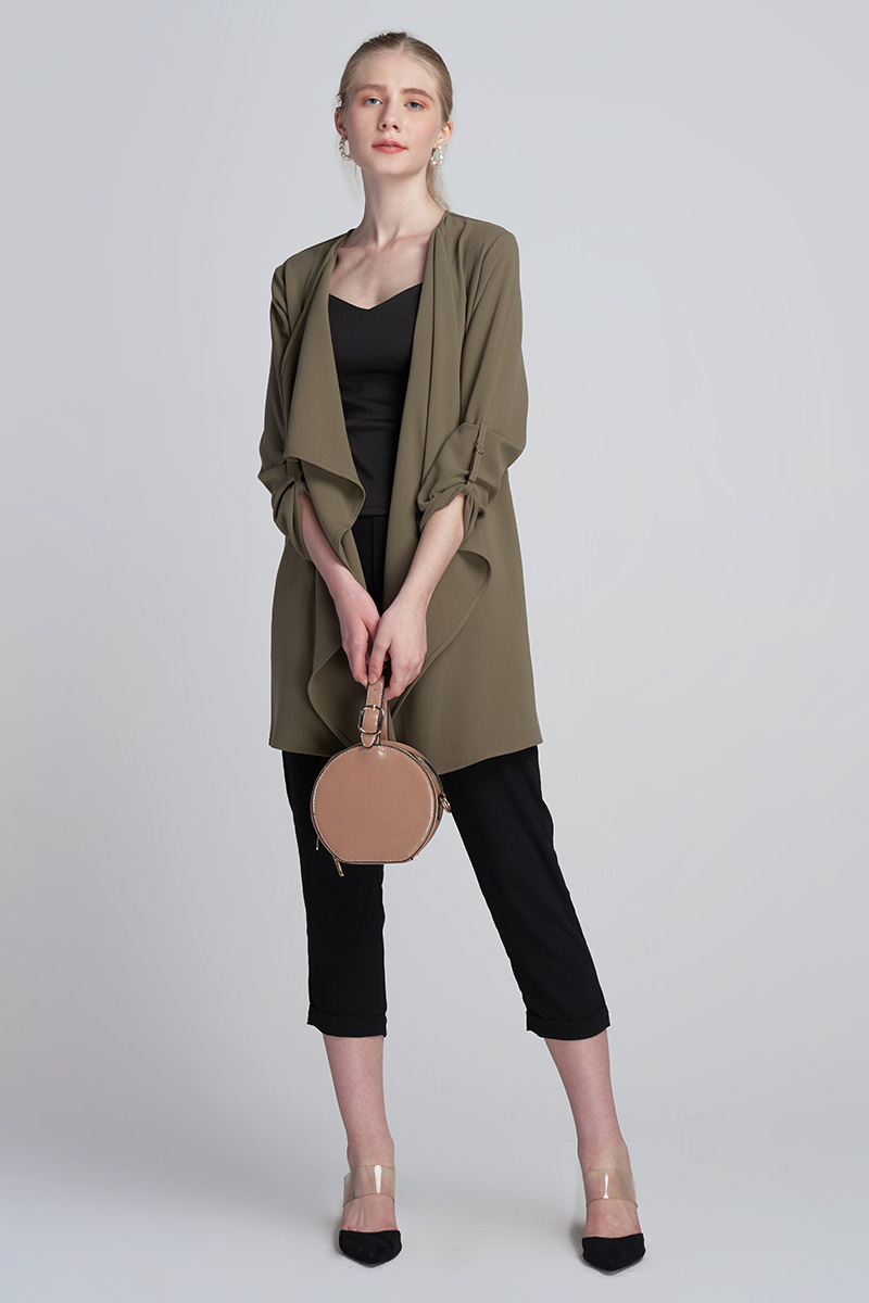 GOLDIE OUTER OLIVE