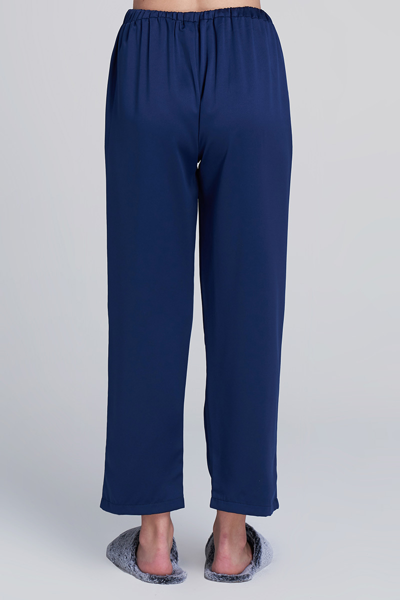 JEMMA SATIN PANTS NAVY