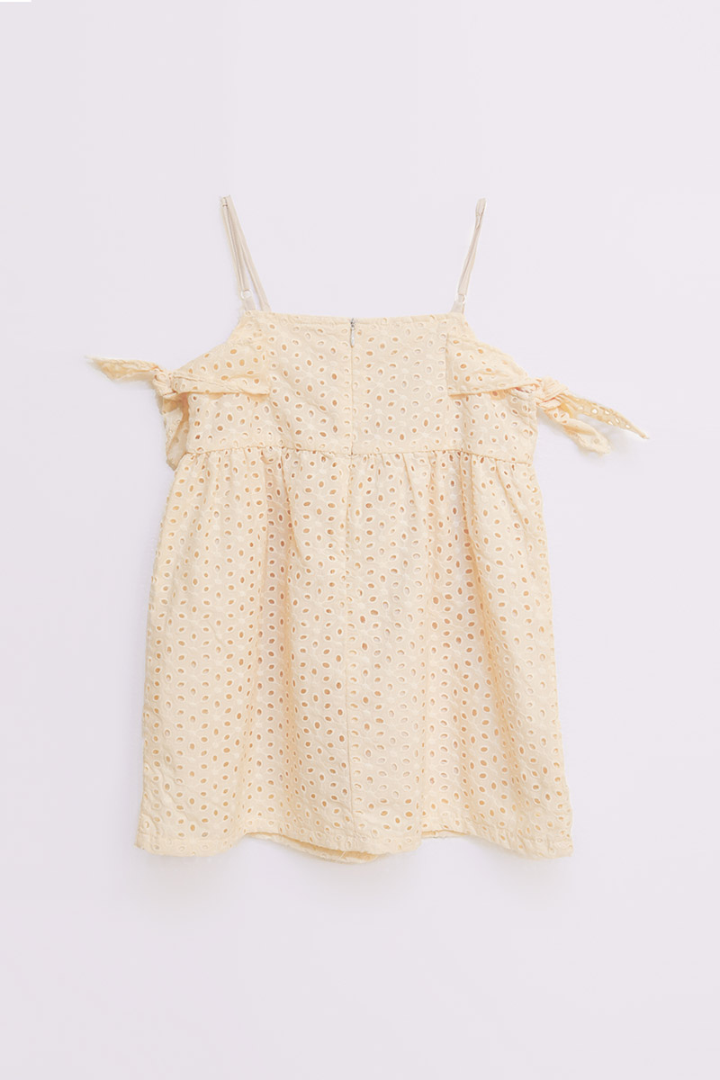 KIDS REILA DRESS CREME